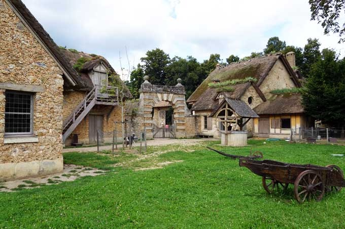 And it wasn't just for show: the hamlet's working farm, dairy and poultries actually produced food for the chateau